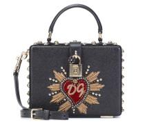 Tasche Dolce Box aus Dauphine-Leder