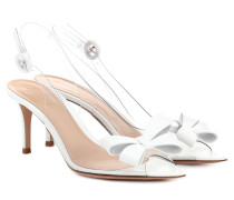 Slingback-Pumps Plexi Bow 70