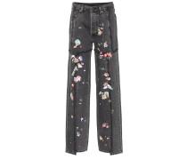 X Levi's® High-Rise Jeans mit weitem Bein