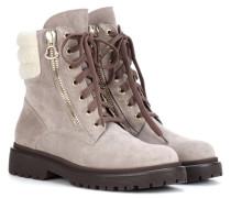 Boots New Viviane aus Veloursleder