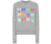 Sweatshirt Dog Grid aus Baumwolle