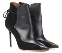 Ankle Boots Jordan 100 aus Leder
