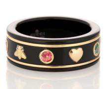 Ring Icon aus 18kt Gelbgold mit Topasen