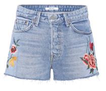 Jeans-Shorts Cindy mit Applikationen
