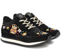 Sneakers Work it! Matryoshka aus Samt