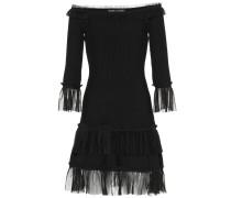Off-Shoulder Kleid mit Spitze
