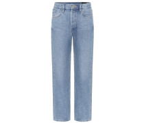 Mid-Rise Jeans The Relaxed Straight