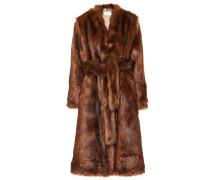 Mantel Pas aus Faux Fur