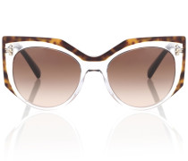 Sonnenbrille aus Metall