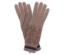 Handschuhe aus Kaschmir und Seide