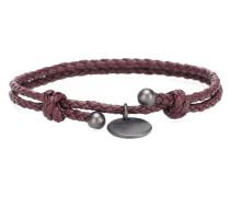Armband aus Intrecciato-Leder