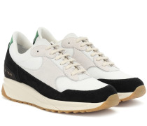 Sneakers New Track mit Veloursleder