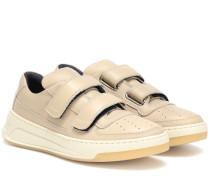 Sneakers Steffey aus Leder