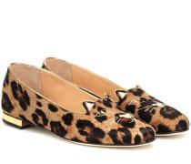 Loafers Kitty aus Kalbshaar