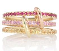 Ring Aurora Mix aus 18kt Gold und 18kt Roségold