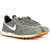 Sneakers Internationalist mit Leder