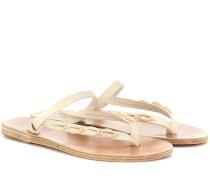 Verzierte Sandalen Mirsini
