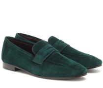Loafers Flaneur aus Veloursleder