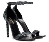 Sandalen Amber 105 mit Glitter