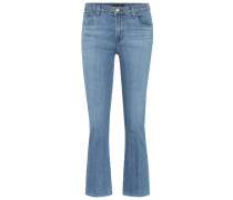 Mid-Rise Cropped Jeans Selena