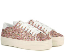 Sneakers Court Classic SL/39 mit Glitter