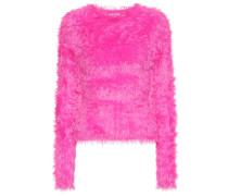 Pullover aus Faux Fur