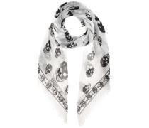 Alexander McQueen Bedruckter Schal mit Seidenanteil