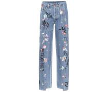 X Levi's® Bedruckte High-Rise Jeans