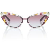 Cat-Eye-Sonnenbrille aus Acetat
