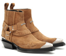 Ankle Boots Santiag Harness