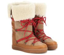 Ankle Boots Nowly aus Leder