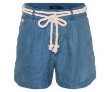 Shorts aus Leinen