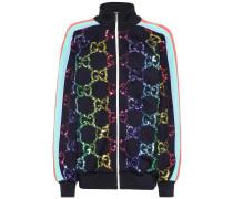 Verzierte Jacke aus Jersey