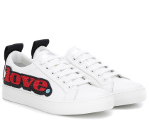 Sneakers Empire aus Leder