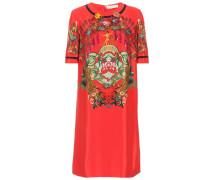 Kleid aus einem Seidengemisch