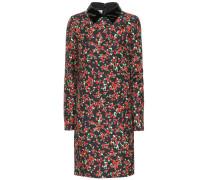 Kleid aus Seide und Schurwolle