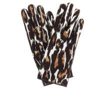 Bedruckte Handschuhe