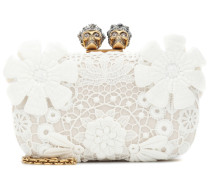 Alexander McQueen Boxclutch King and Queen Classic
