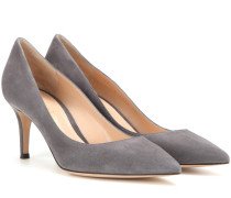 Pumps Gianvito 70 aus Veloursleder