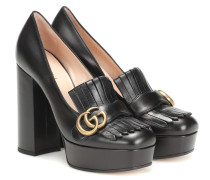 Loafer-Pumps Marmont aus Leder