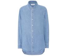 Jeanshemd aus Baumwolle
