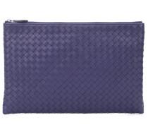 Clutch Biletto aus Intrecciato-Leder
