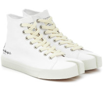 High-Top-Sneakers Tabi aus Canvas