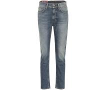 Blå Konst Jeans Melk Mid Blue