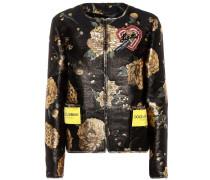 Verzierte Jacke aus Brokat