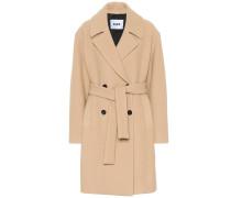 Mantel mit Wollanteil