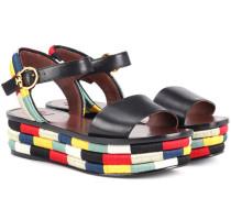 Sandalen Camilla aus Leder