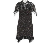 Verziertes Kleid mit Spitze