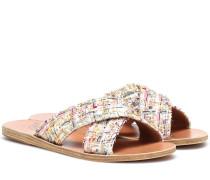 Sandalen Thais aus Tweed