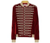 Verzierte Jacke aus Samt